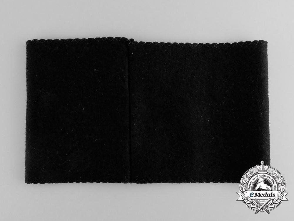 A National Socialist Veterans Organization Membership Armband