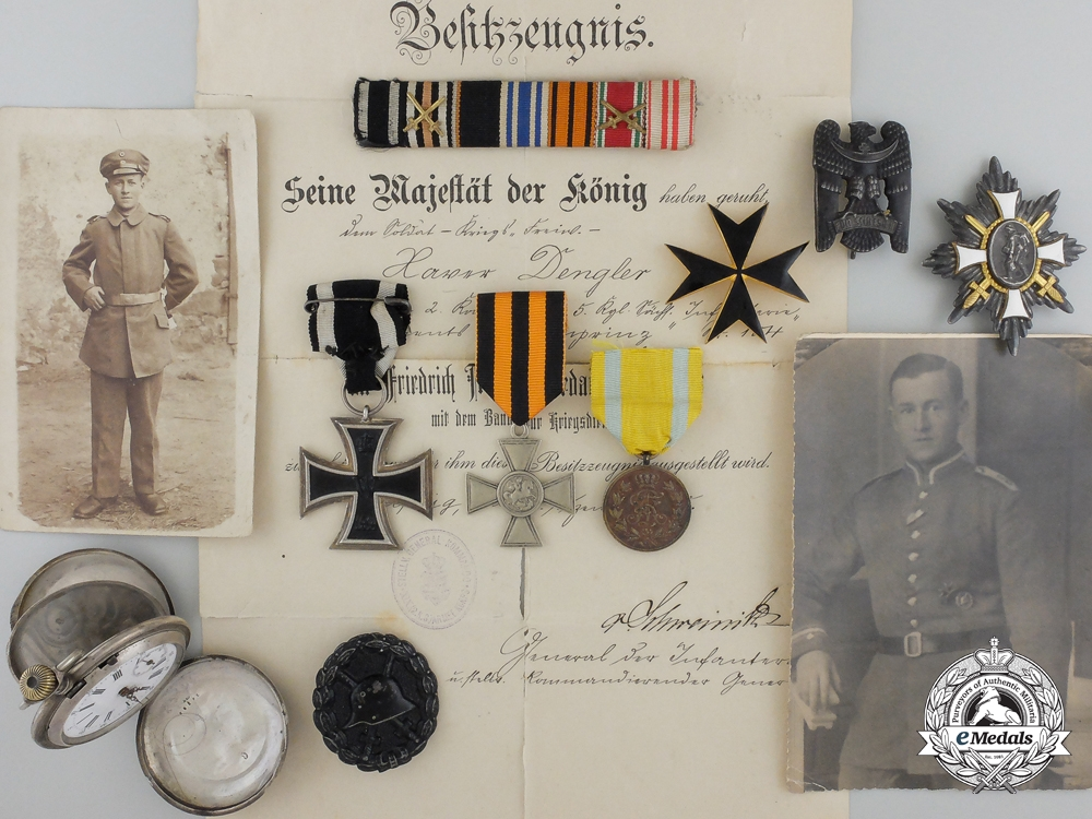 An Unusual First War Group to a German-Russian Westarmy Officer
