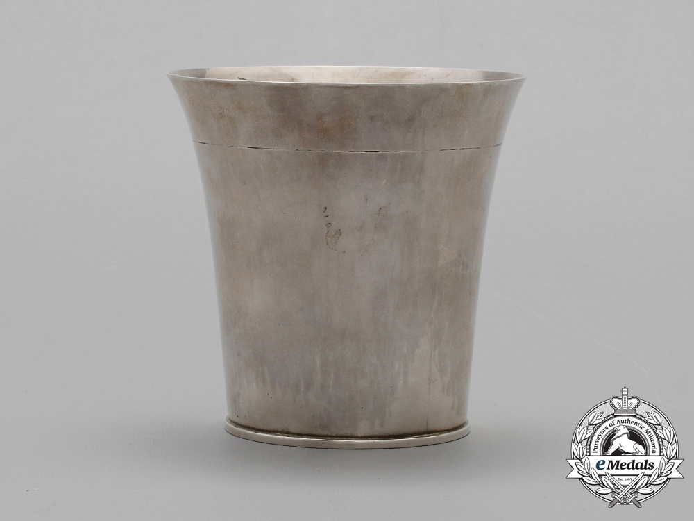 Germany, Luftwaffe. A 1933-34 Silver Trophy Presented by Göring to Ski Jump Champion