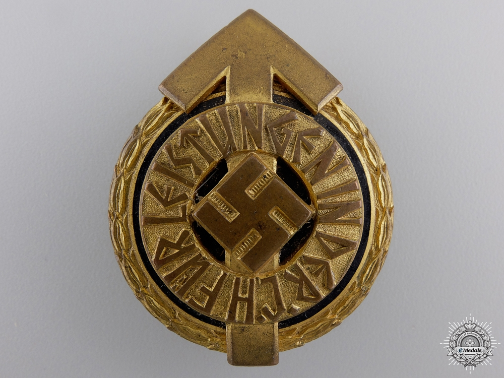 A HJ Leader Sports Badge by Gustav Brehmer