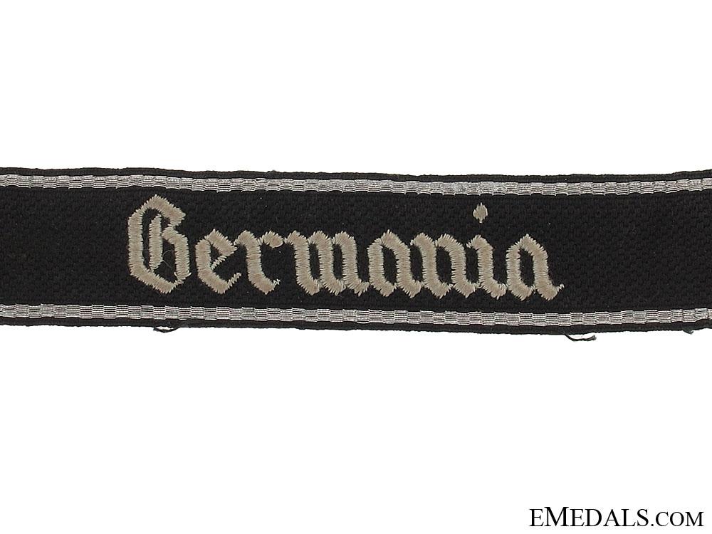 Waffen-SS Germania Cufftitle