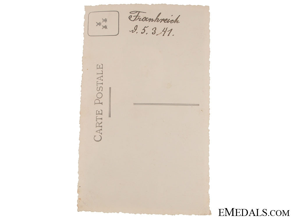 1st. Pattern GrossDeutschland Cufftitle - with Photo