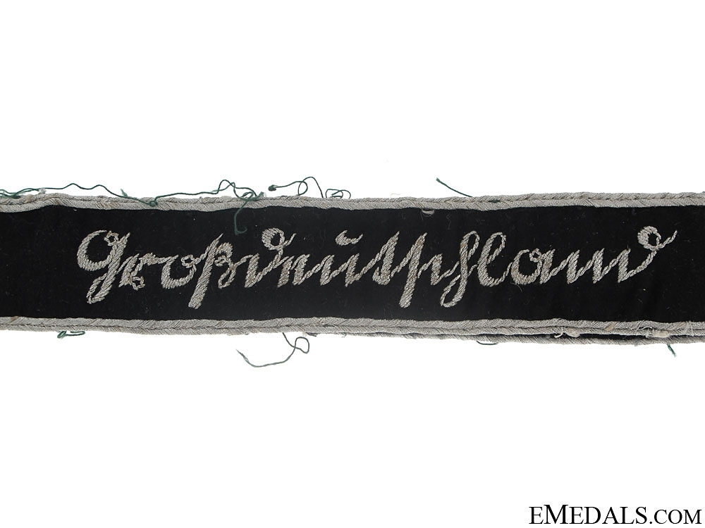 3rd. Pattern GrossDeutschland Officer's Cufftitle  600