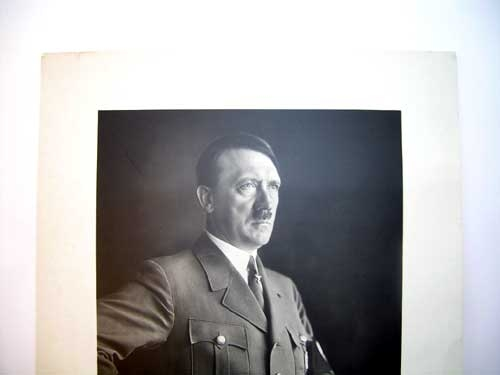 A. HITLER SIGNATURE TO OLYMPIC GAMES 1936 WINNER