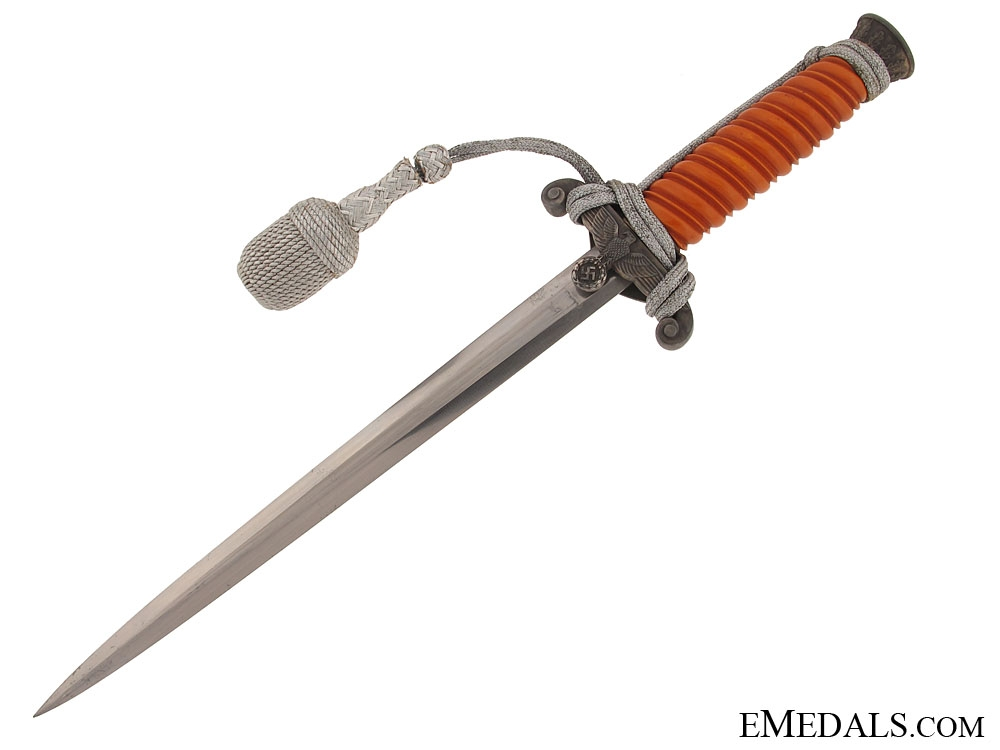 Late Army Officer Dagger - Marked WKC