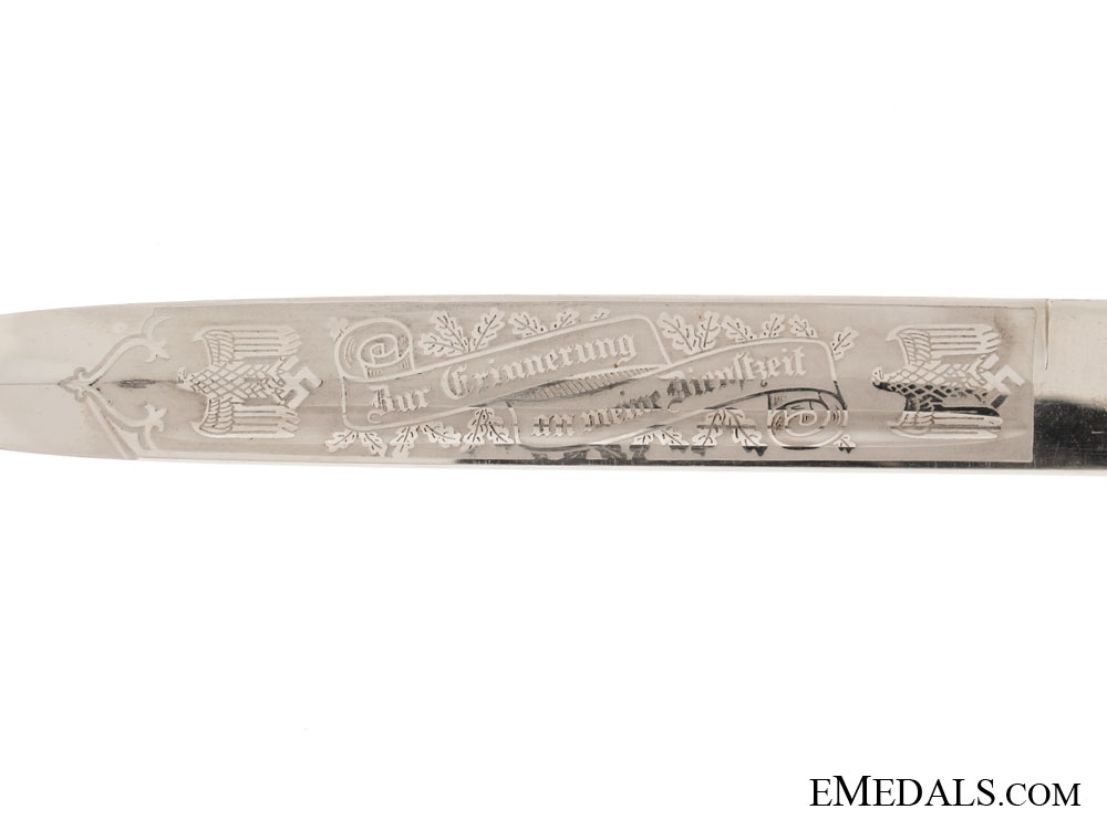 Stag Grip Single-Etched Bayonet - Carl Eickhorn