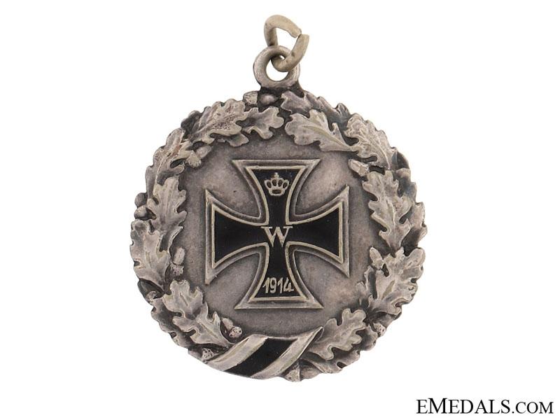 Patriotic Iron Cross Pendant