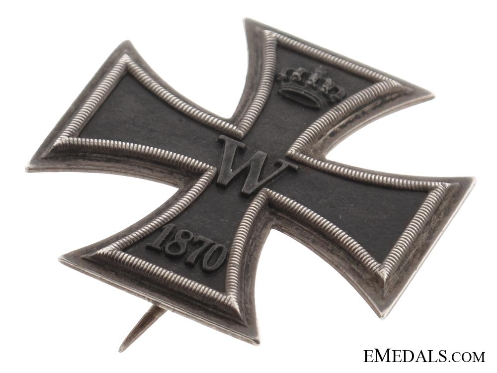 Iron cross 1870 First Class  Wagner