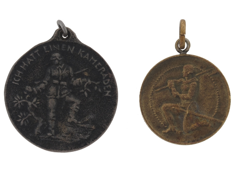 Two Veteran's Medals