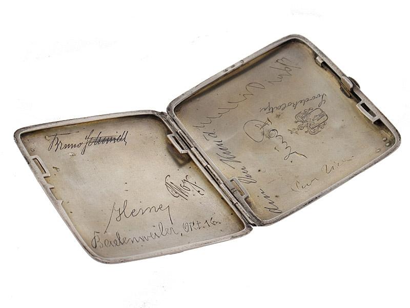 Dedication Silver Cigarette Case