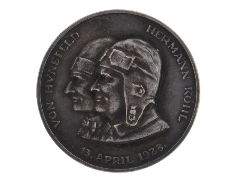 Silver Aviation Commemorative Medal