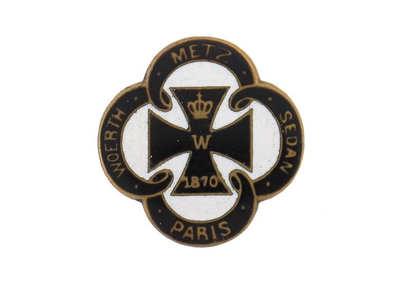 Patriotic Iron Cross Badge