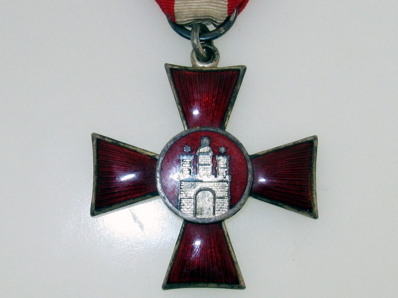 Hamburg Hanseatic Cross 1914