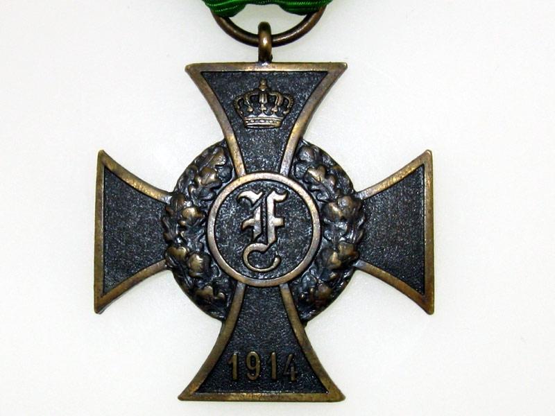 Anhalt, Military Friedrich-Cross