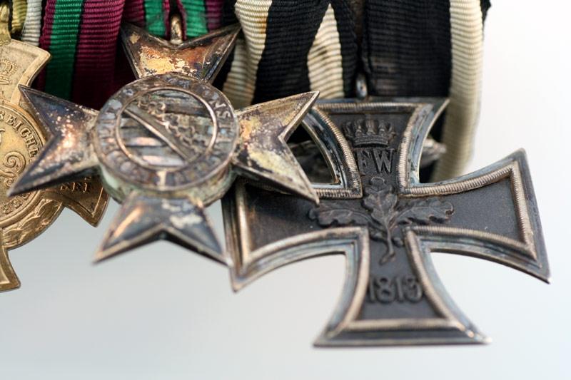 1870 Iron Cross - 8 Medal Group