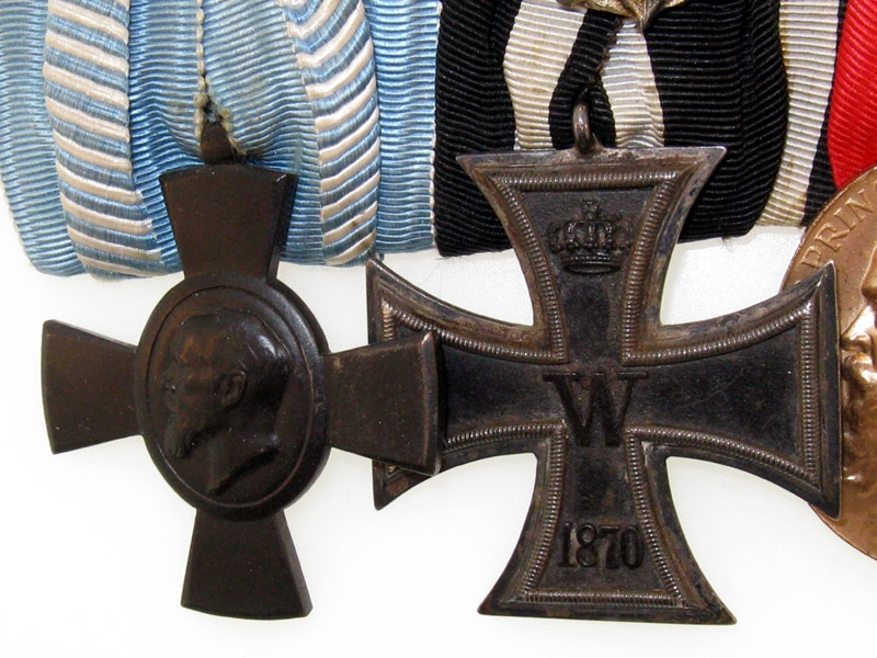 1870 Iron Cross - 6 Medal Group