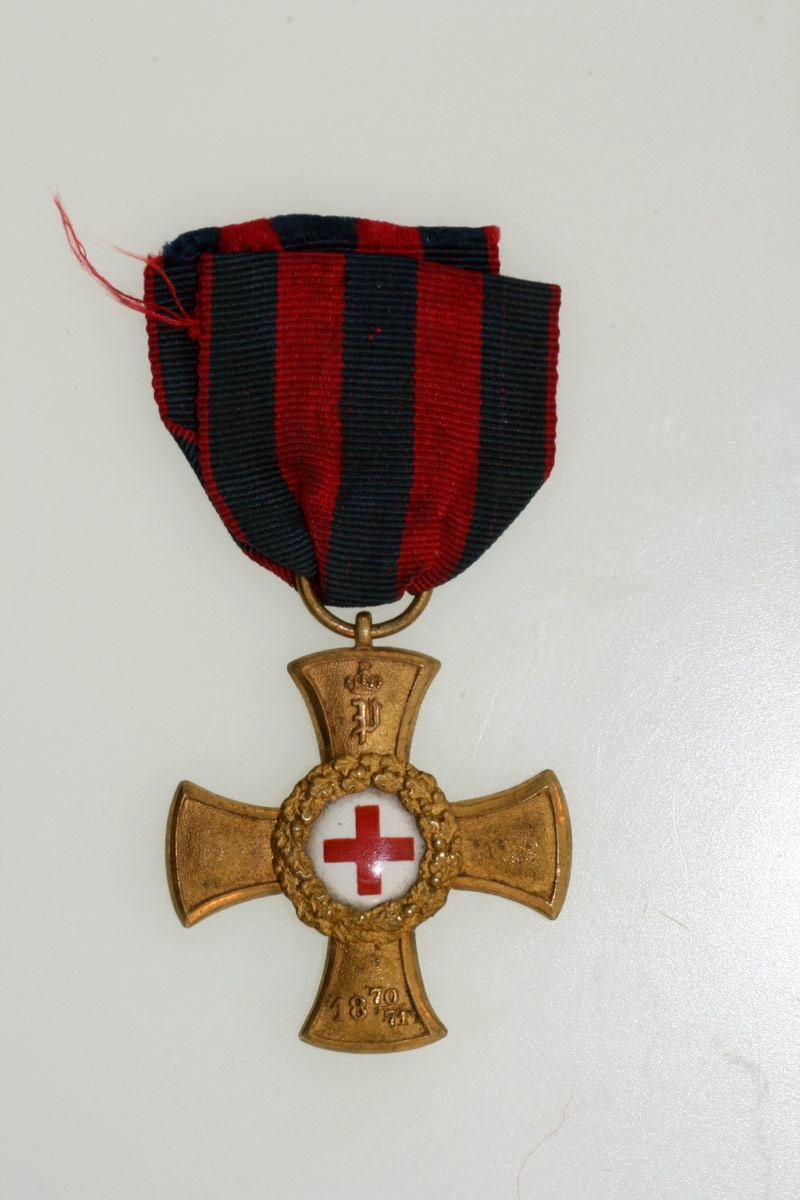 Oldenburg, Franco-Prussian Red Cross Award