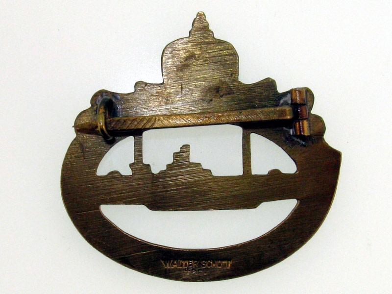 WWI Submarine Badge