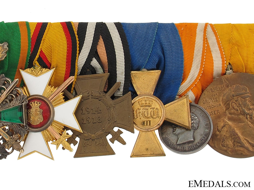 Fine Medal Bar with Nine Awards