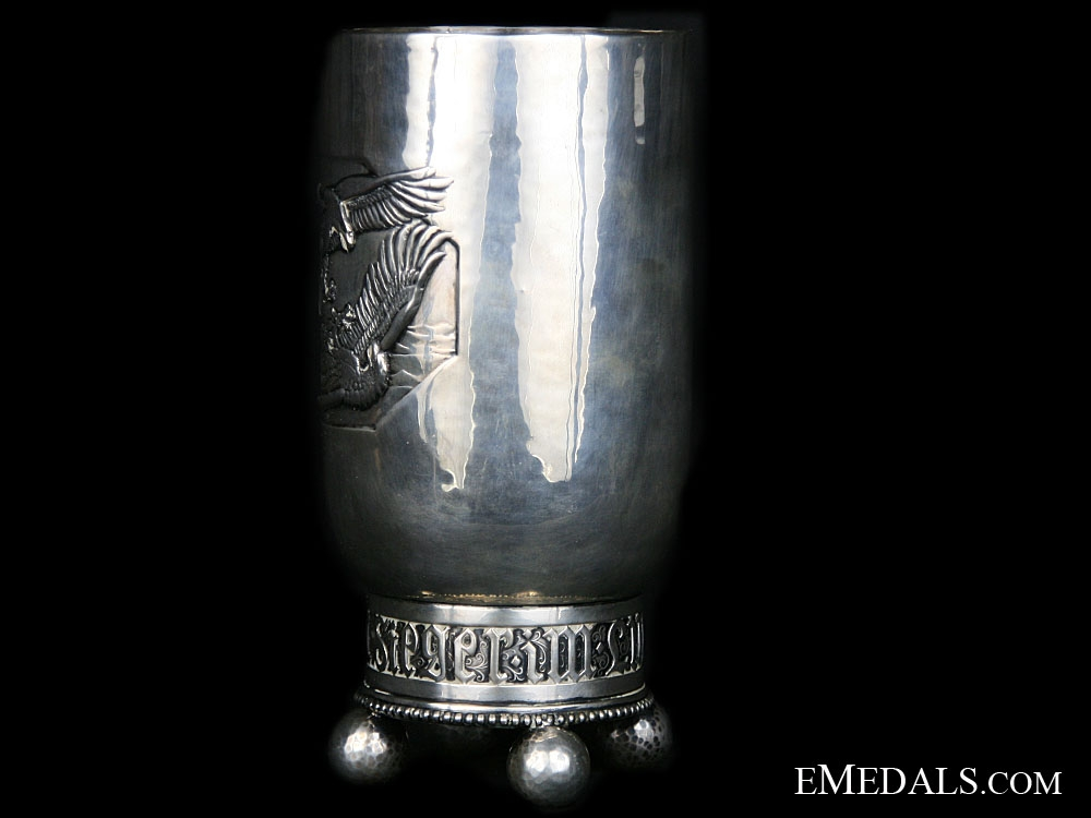 WWI Silver Honor Goblet for Air Victories