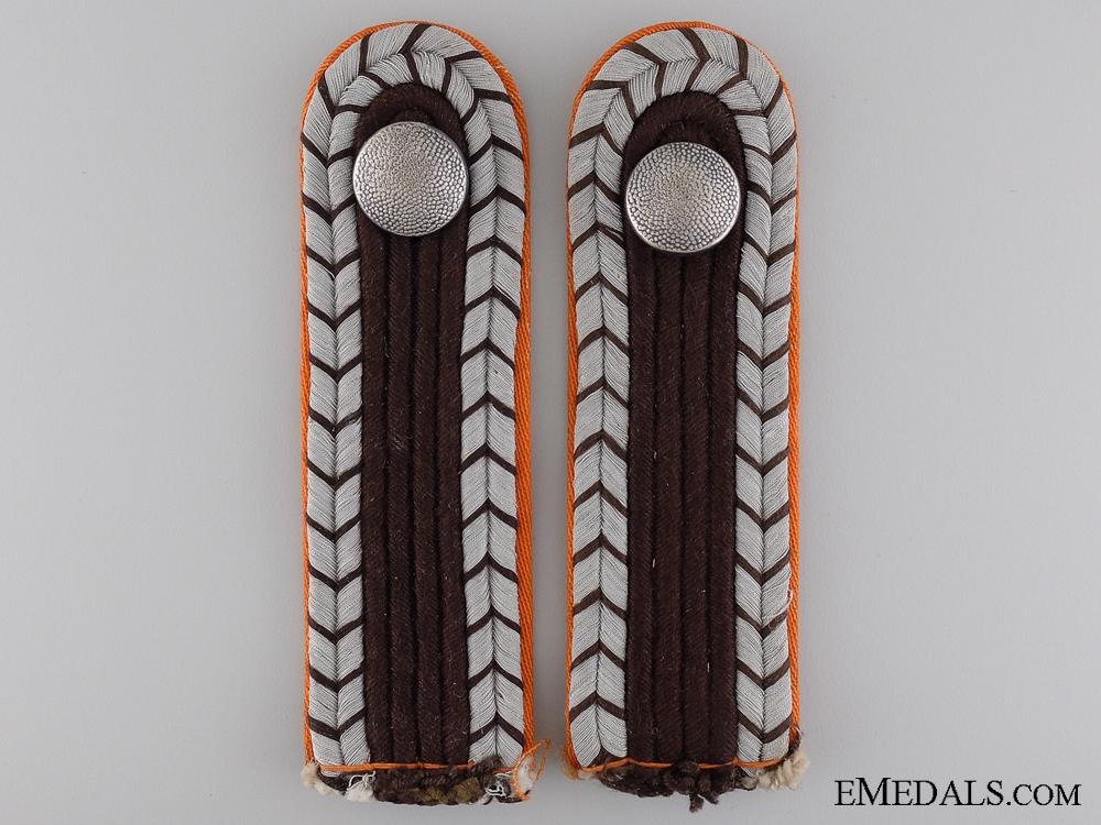 Gendarmerie Shoulder Boards