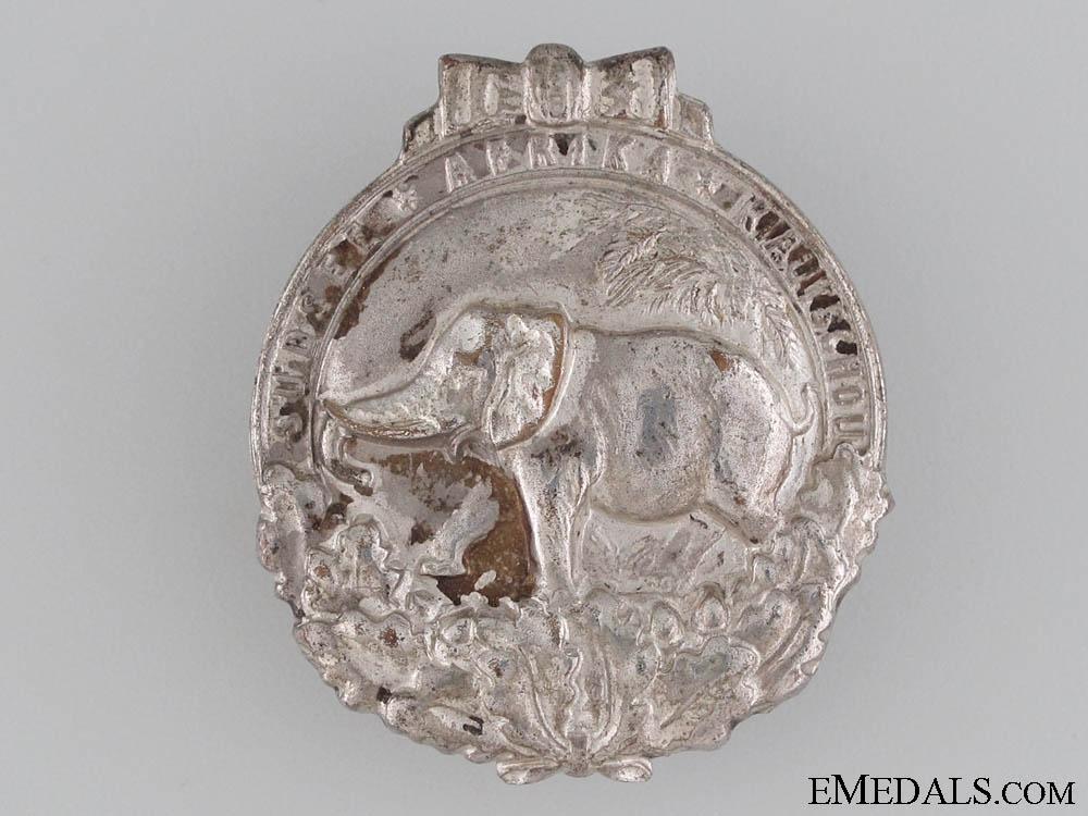 German Colonial Honour Badge