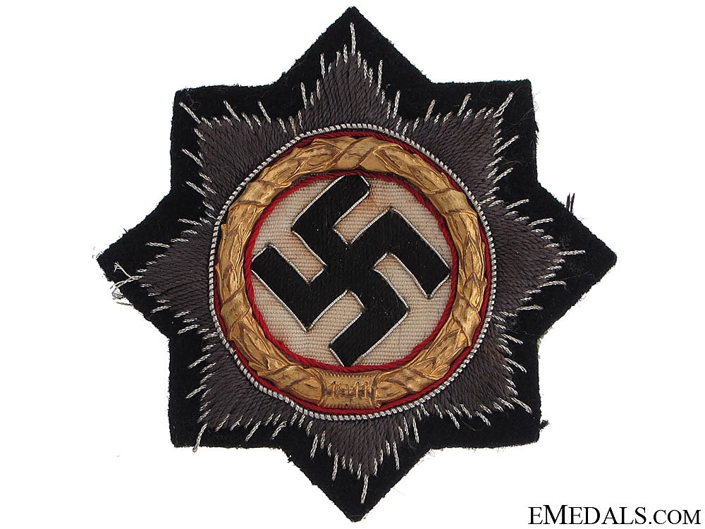 "German Cross in ""¢�Gold""¢� ""¢¤ Black Panzer version"