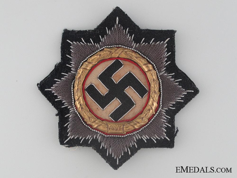 "German Cross in Gold ""¢¤ Black Panzer Version"