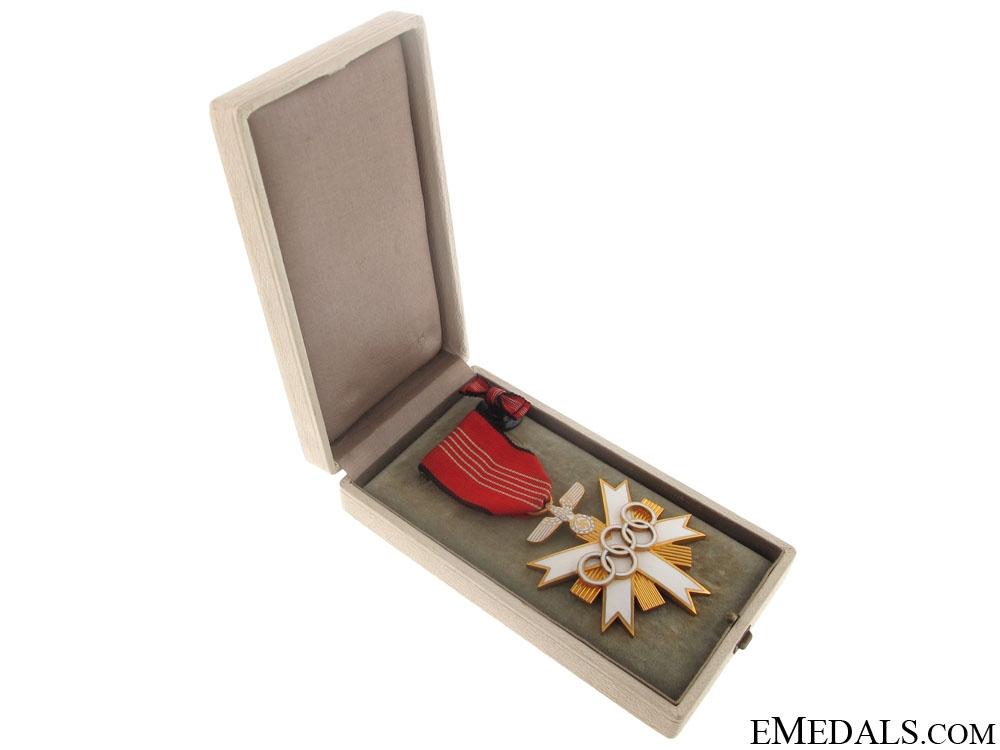 German Olympic Merit Cross - 2nd. Class