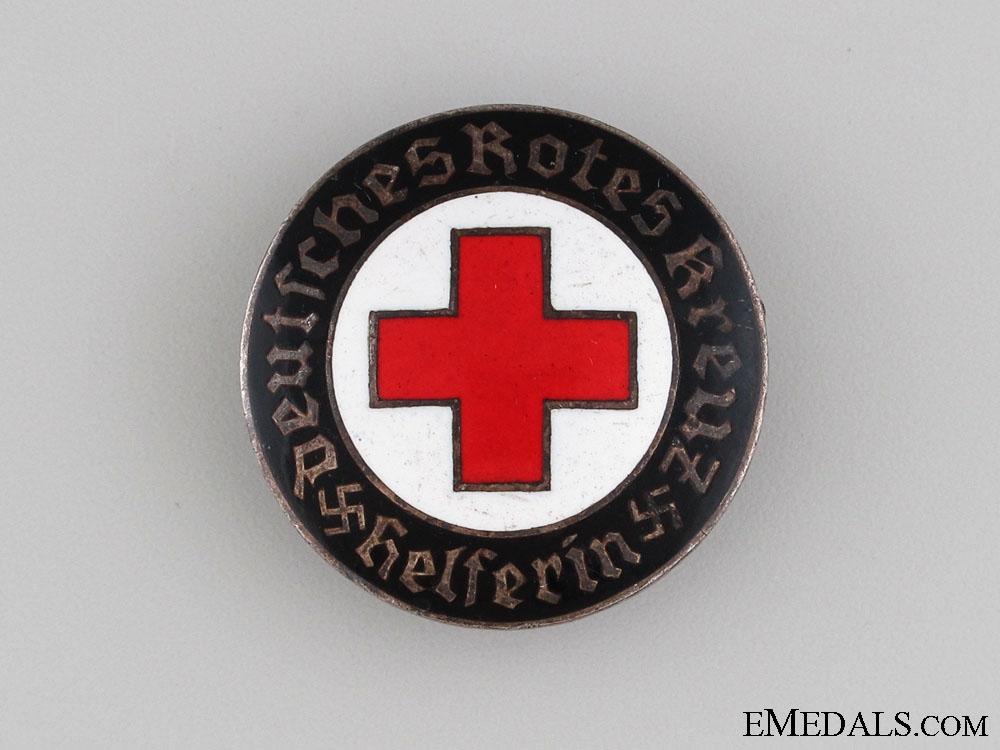 German Red Cross Helper's Badge