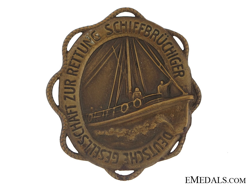 German Sea Rescue Day Badge