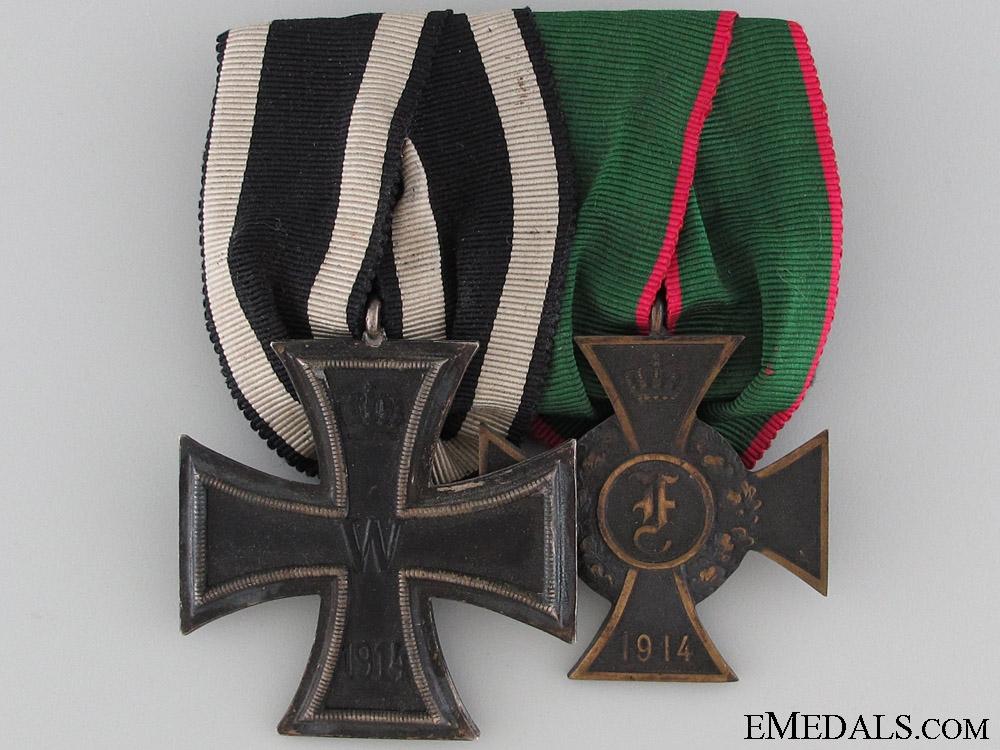 German WWI Pair of Awards