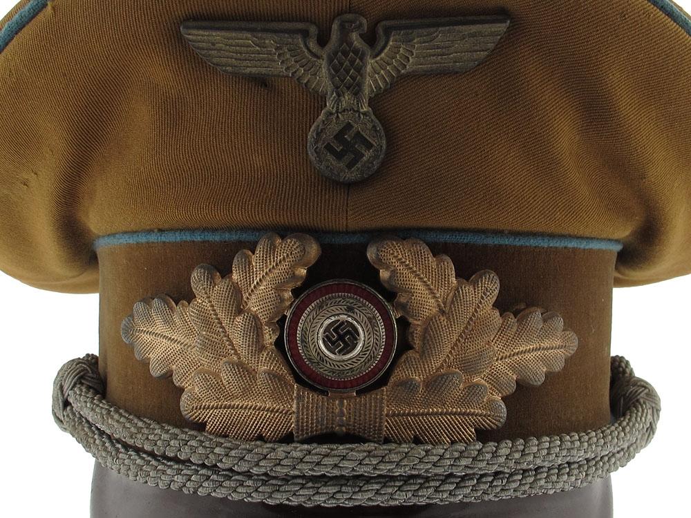 NSDAP Party Ortsgruppe Political Leader's Visor Cap, Named