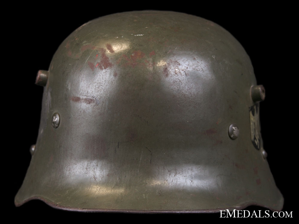 M16 Double Decal Austrian Made Transitional Army Helmet