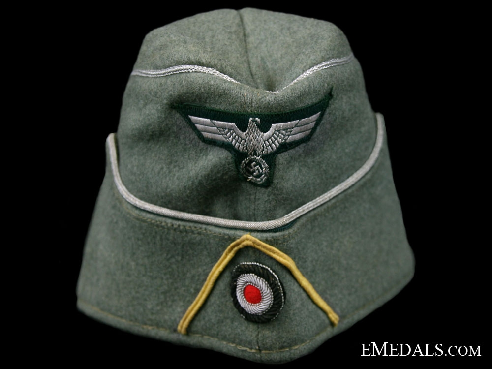Signals Officers Overseas Cap