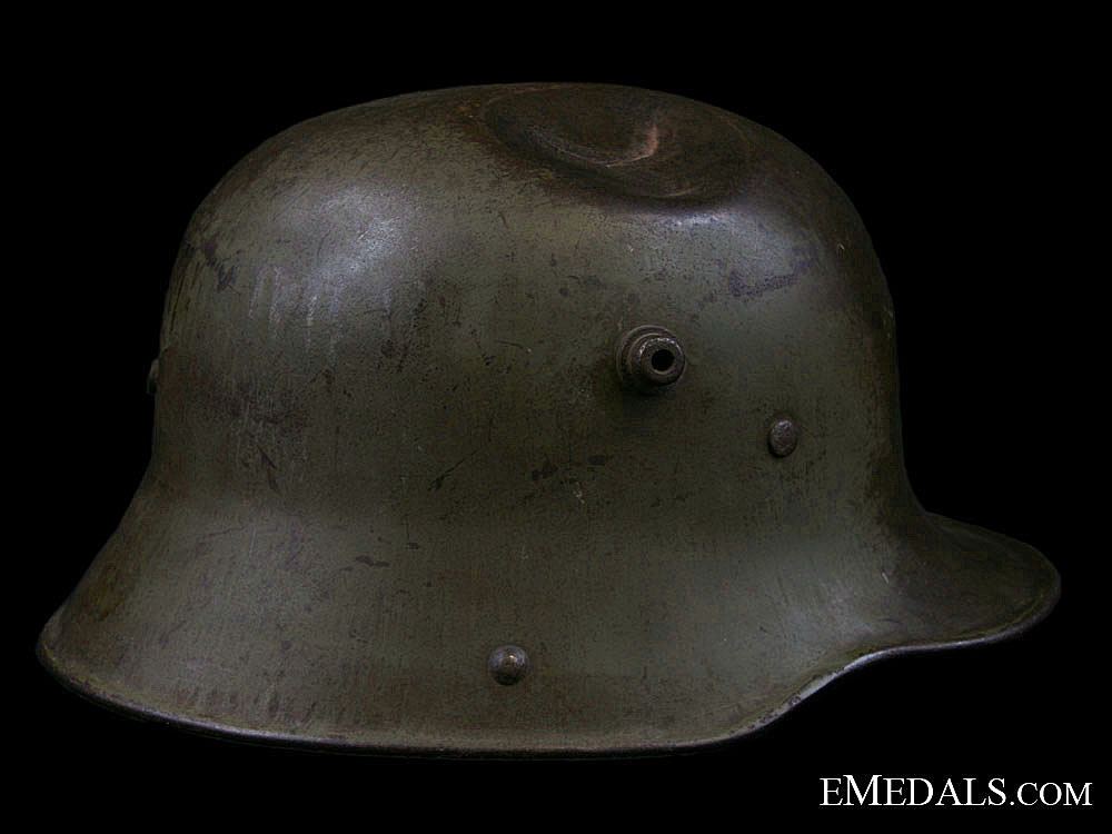 M17 Combat Damaged Helmet