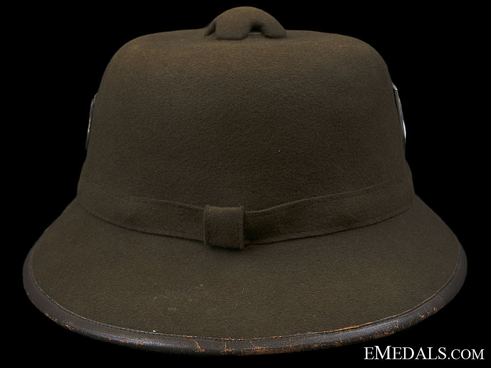 A First Model Wehrmacht Pith Helmet 1941