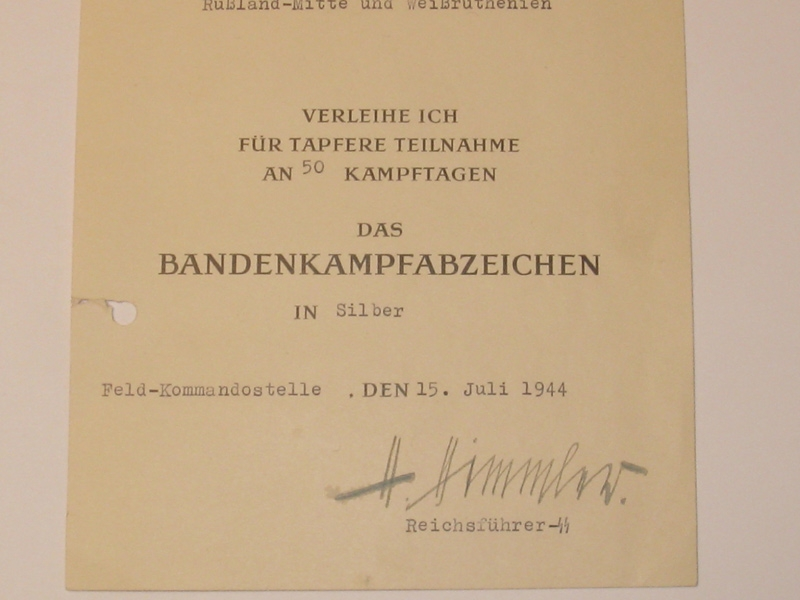 Waffen-SS General Court von Gotteberg,