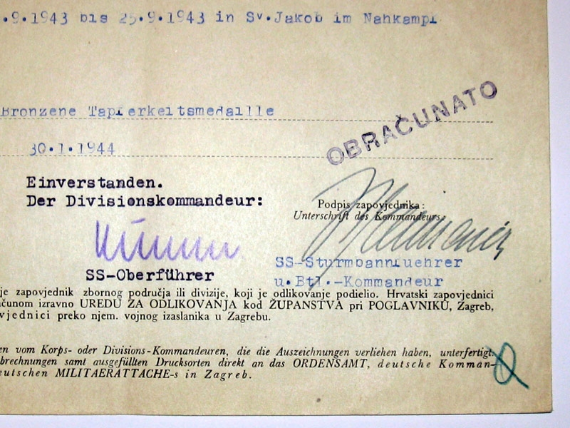 Croatian Preliminary Document