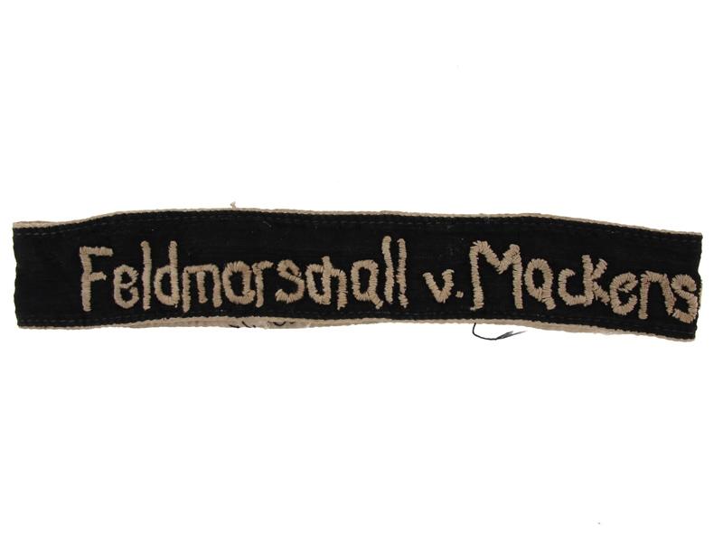 "Cufftitle ""Feldmarschall v.Mackensen"""