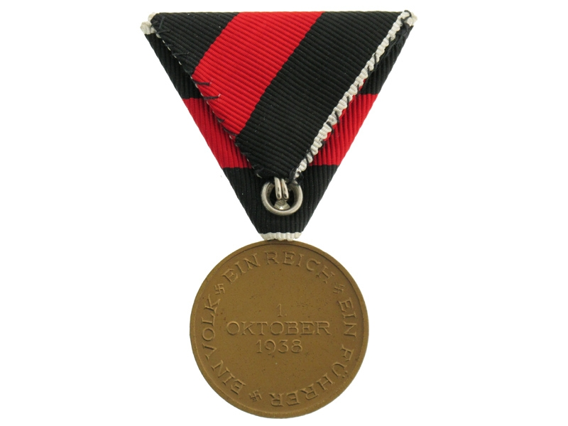 Commemorative Medal 1.Oktober 1938