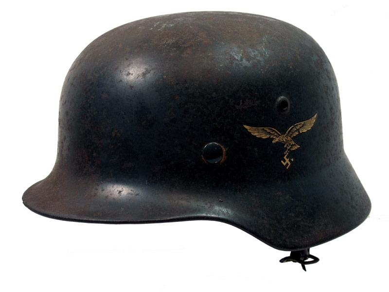 1935 Model Luftwaffe Double Decal Helmet.