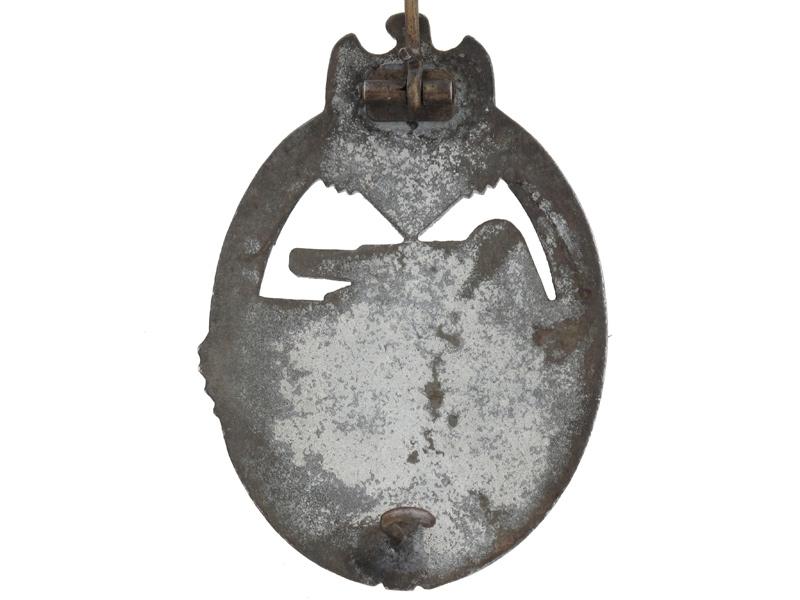 Tank Badge-Silver Grade