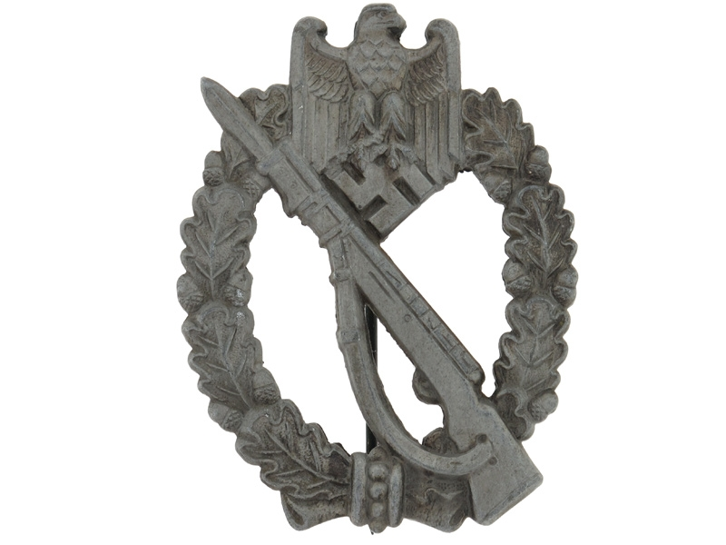 Infantry Badge-Silver Grade