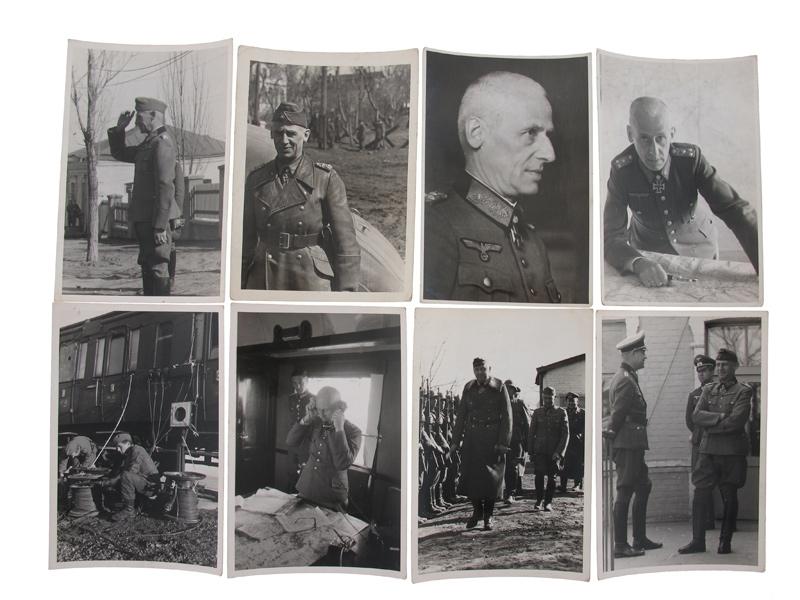 """Photos, Generaloberst H. """"Papa"""" Hoth"""
