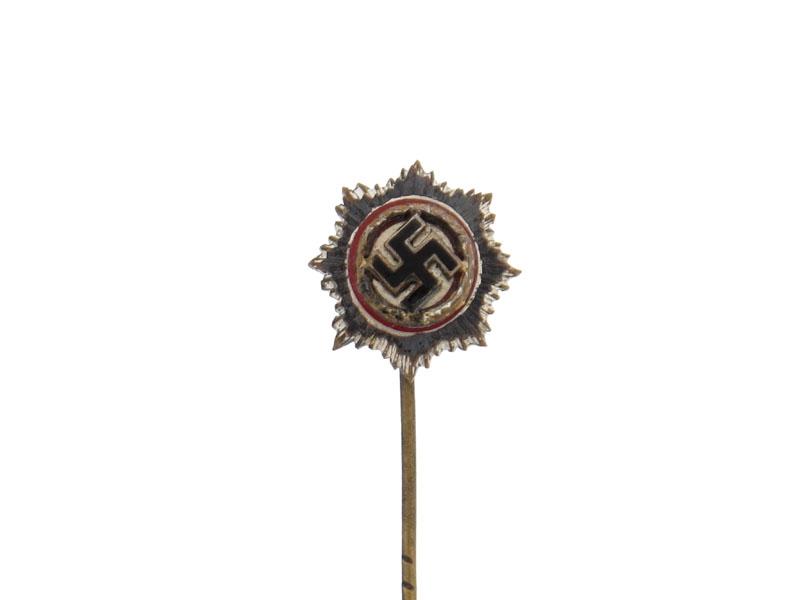 German Cross in Silver- Miniature Pin