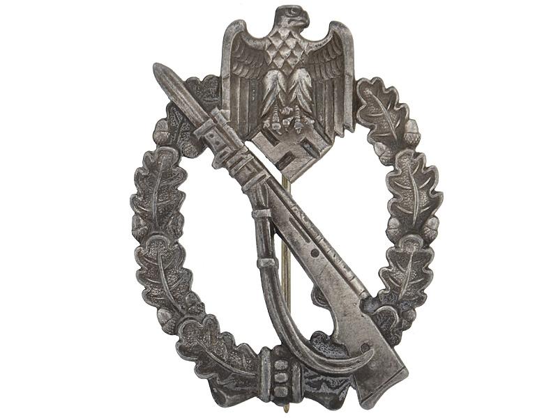 Infantry Badge-Silver Grade