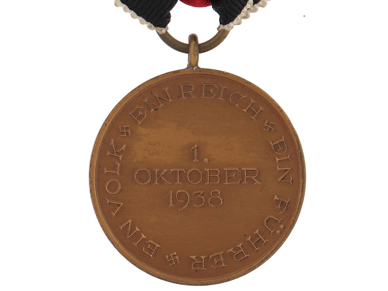 1. Oktober 1938 Commemorative Medal