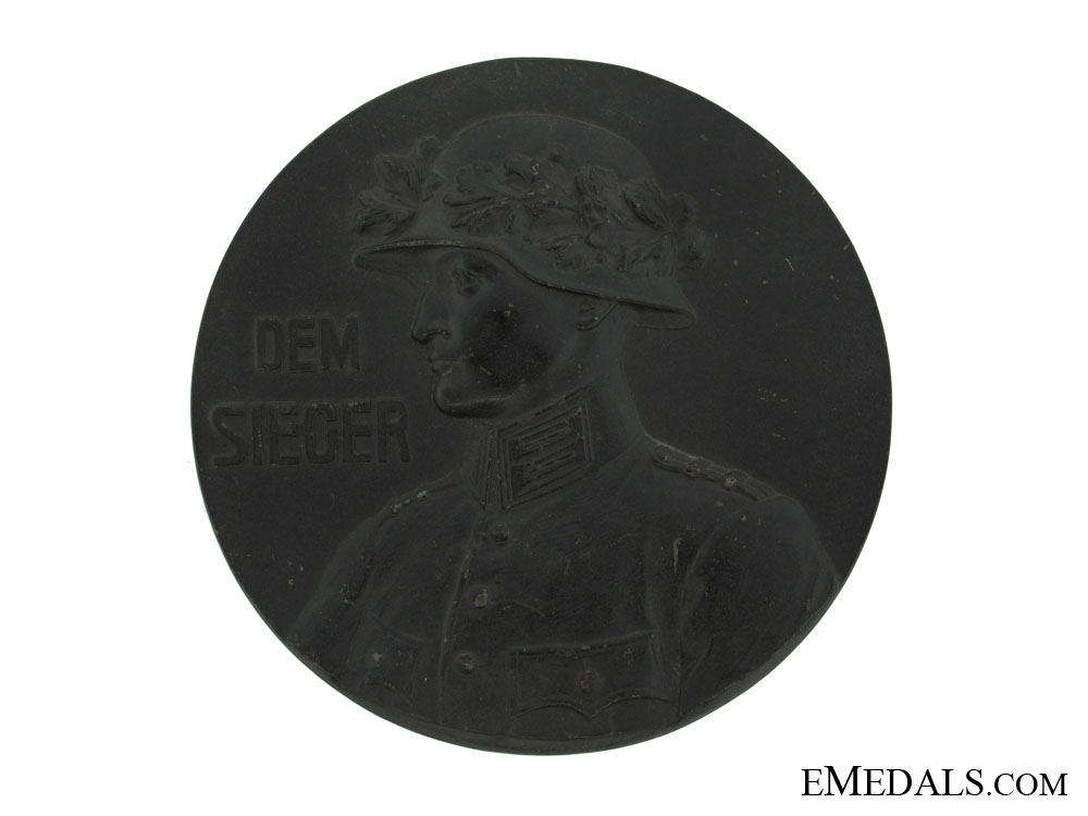 Army Winner Large Plaque 1919