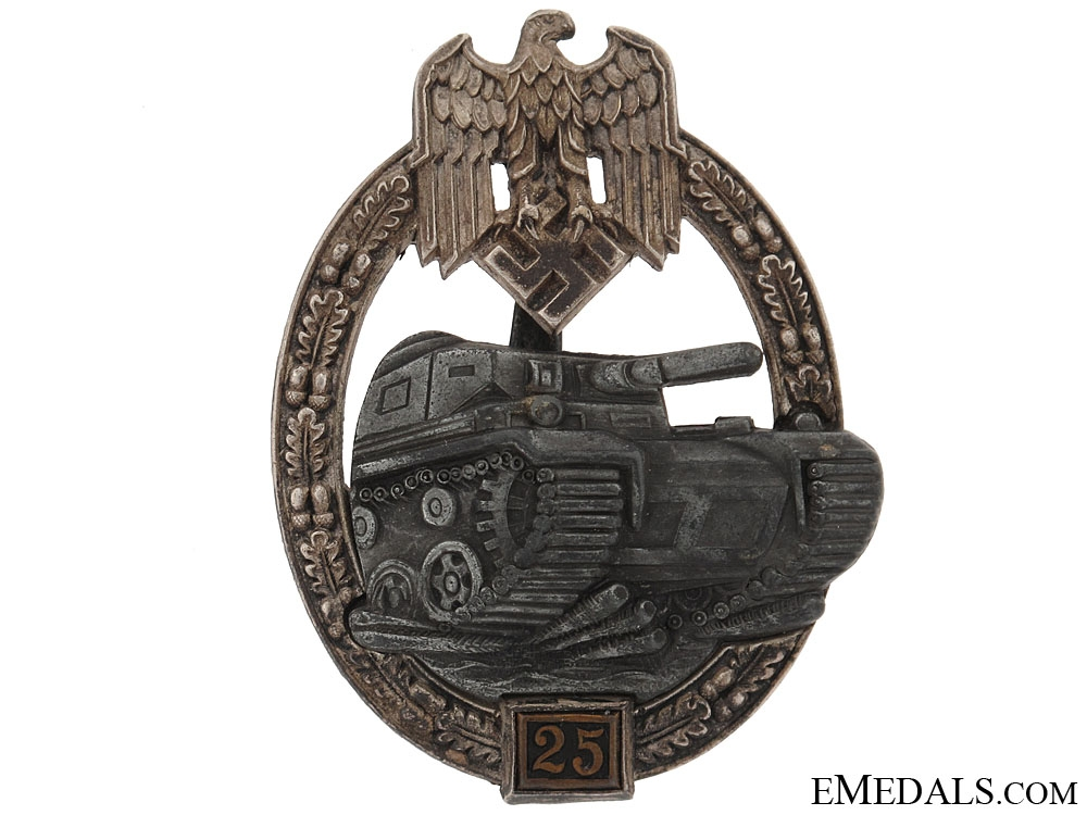 Panzer Badge-Grade II (25)